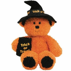 Ty Halloween 2007 Beanie Baby Witchy the Bear