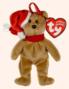 Ty Beanie baby Jingle Beanies 1997 Holiday Teddy Bear