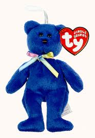 Ty beanie Baby  Jingle Beanies  Clubby the Bear