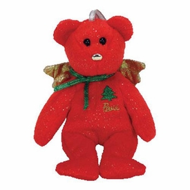 Ty Beanie baby Jingle Beanies  Gift the Red Bear