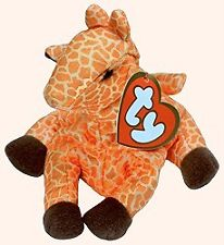 Ty McDonalds Beanie Baby Twigs the Giraffe #3
