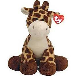 Ty Pluffies Plush TipTop The Giraffe