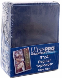 Ultra Pro Card Supplies 25 Count Box Clear Card Toploaders