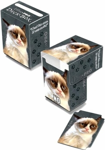 Ultra Pro Card Supplies Deck Box Grumpy Cat  New!