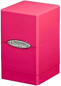 Ultra Pro Card Supplies Satin Tower Pink Deck Box