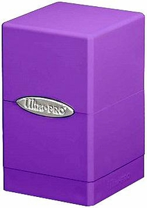 Ultra Pro Card Supplies Satin Tower Purple Deck Box