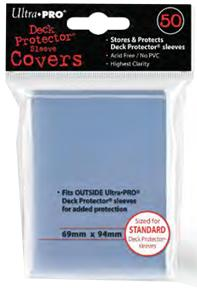 Ultra Pro Card Supplies STANDARD Card Sleeve Covers [50 Count] Pre-Order ships October