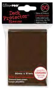 Ultra Pro Card Supplies STANDARD Card Sleeves Brown [50 Sleeves] Pre-Order ships October