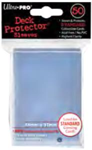 Ultra Pro Card Supplies STANDARD Card Sleeves Clear [50 Sleeves] New!