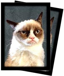 Ultra Pro Card Supplies STANDARD Card Sleeves Grumpy Cat[50 Sleeves]