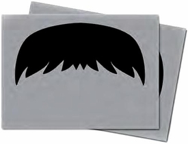 Ultra Pro Card Supplies STANDARD Card Sleeves Mustachios Gray Pre-Order ships October