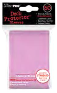 Ultra Pro Card Supplies STANDARD Card Sleeves Pink [50 Sleeves] Pre-Order ships October