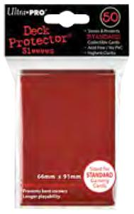 Ultra Pro Card Supplies STANDARD Card Sleeves Red [50 Sleeves] Pre-Order ships November