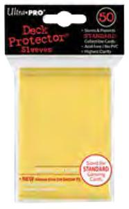 Ultra Pro Card Supplies STANDARD Card Sleeves Yellow [50 Sleeves] Pre-Order ships November