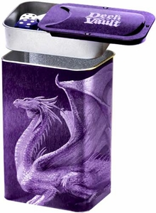 Ultra Pro Card Supplies Steel Deck Vault Nesting Deck Box Purple Dragon Pre-Order ships October