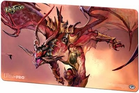 Ultra Pro Kaijudo Card Supplies Play Mat Red Dragon Pre-Order ships October