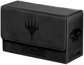 Ultra Pro Magic The Gathering Black Mana Symbol Premium Dual Flip Deck Box