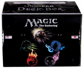 Ultra Pro Magic the Gathering Card Supplies Side Loading Deck Box Mana Symbols with Counter