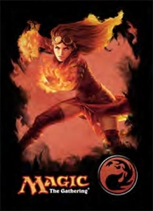Ultra Pro Magic the Gathering Card Supplies STANDARD Card Sleeves Chandra Pre-Order ships October