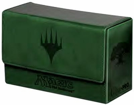 Ultra Pro Magic The Gathering Green Mana Symbol Premium Dual Flip Deck Box