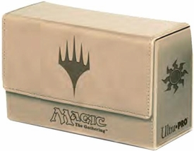 Ultra Pro Magic The Gathering White Mana Symbol Premium Dual Flip Deck Box
