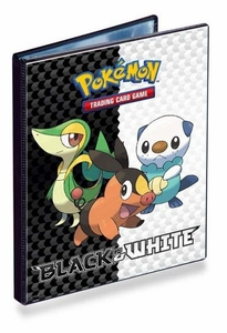 Ultra Pro Pokemon Black & White Card Supplies 4-Pocket Binder Snivy, Tepig & Oshawott