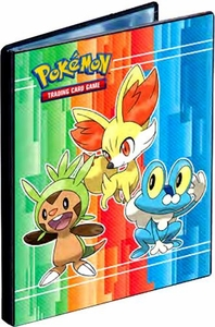 Ultra Pro Pokemon Card Supplies 4-Pocket Binder Froakie, Fennekin & Chespin