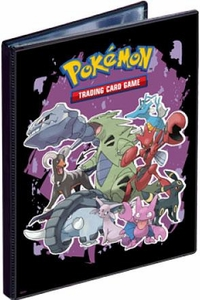 Ultra Pro Pokemon Card Supplies 4-Pocket Binder Gen4 [Steelix, Tyranitar, Houndoom, Espion & Umbreon]