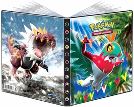 Ultra Pro Pokemon Card Supplies 4-Pocket Binder Hawlucha New!