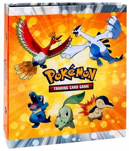 Ultra Pro Pokemon Card Supplies 4-Pocket Binder HeartGold SoulSilver Ho-oh & Lugia