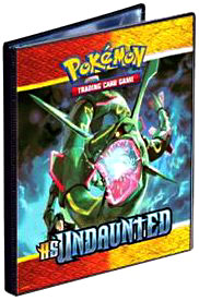 Ultra Pro Pokemon Card Supplies 4-Pocket Binder Heartgold Soulsilver Unleashed Rayquaza & Skarmory