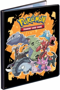 Ultra Pro Pokemon Card Supplies 9-Pocket Binder Gen4 [Steelix, Tyranitar, Houndoom, Espion & Umbreon]