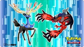 Ultra Pro Pokemon XY Card Supplies Pokemon Yveltal & Xerneas Play Mat