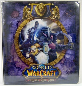 Ultra Pro World of Warcraft WoW Card Supplies 2 Inch D-Ring Card Binder Alliance