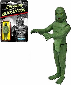 Universal Monsters Funko 3.75 Inch ReAction Figure Creature From The Black Lagoon [Green] New!