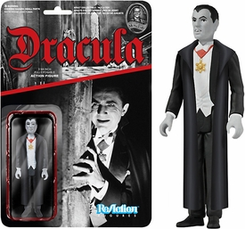 Universal Monsters Funko 3.75 Inch ReAction Figure Dracula New!