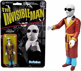 Universal Monsters Funko 3.75 Inch ReAction Figure Invisible Man New!