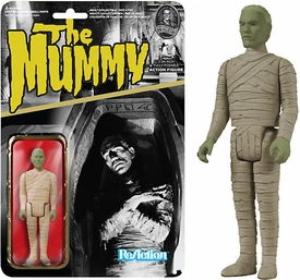 Universal Monsters Funko 3.75 Inch ReAction Figure Mummy [Green Face] New!