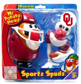 University of Oklahoma Sooners Mr. Potato Head Sports Spuds NCAA College