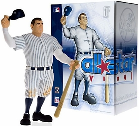 Upper Deck Authenticated All Star Vinyl Figure Babe Ruth (White Pinstripes Jersey) Limited to 1500 Pieces BLOWOUT SALE!