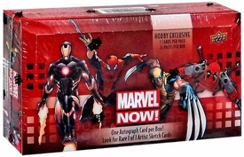 Upper Deck Marvel Comics Trading Cards Hobby Box Marvel NOW! New!