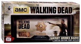 Walking Dead Gentle Giant Prop Replica Rick Grimes Badge New!
