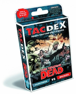 Walking Dead Tacdex Battle Card Game Survivors Vs Walkers Pre-Order ships October