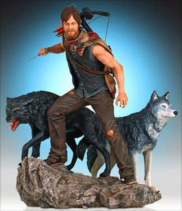 Walking Dead TV Gentle Giant 1/8 Scale Statue Daryl Dixon & The Wolves Pre-Order ships June