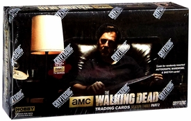 Walking Dead TV Season 3 Part 2 Trading Card Box [24 Packs] New!