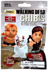 Walking Dead TV Series Chibis Figure Blind Pack [3 Random Figures]
