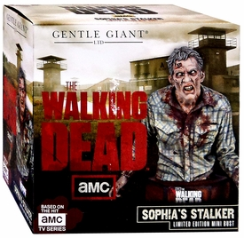 Walking Dead TV Series Gentle Giant Mini-Bust Sophia Stalker Walker New!