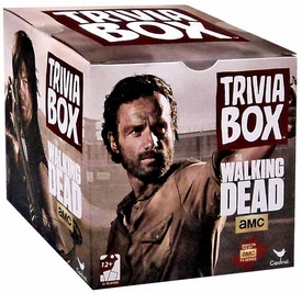 Walking Dead TV Trivia Box Game Pre-Order ships October