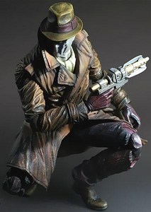 Watchmen Play Arts Kai Action Figure Rorschach Pre-Order ships August