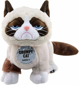 Webkinz Plush Grumpy Cat